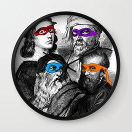 Ninja Masters Wall Clock