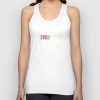 revolution Tank Tops featuring Revolution by Mobe13