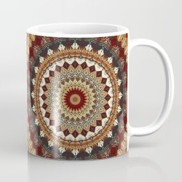 Earthy Mandala Coffee Mug