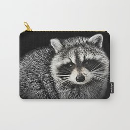 A Gentle Raccoon Carry-All Pouch