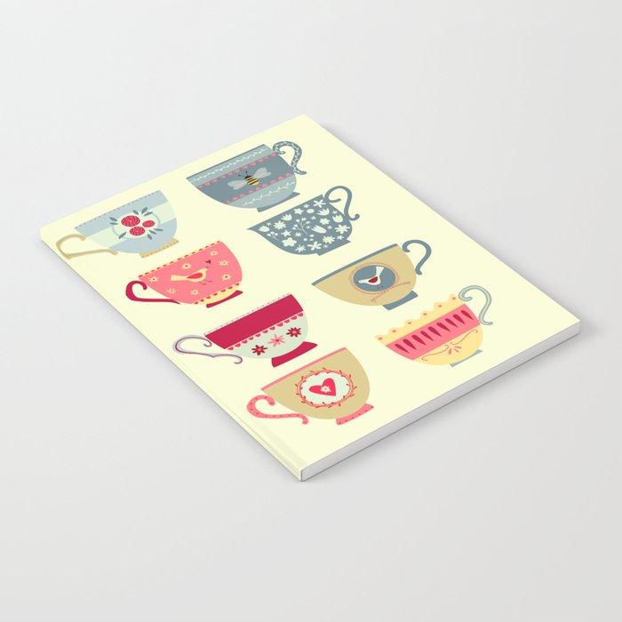 Tea Cups Notebook