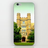 medical iPhone & iPod Skins featuring duke medical by Chromatic Reflections