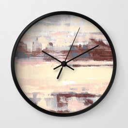 Somewhere Out West Wall Clock
