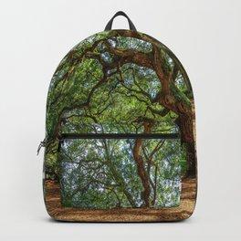 Angel Oak - Ancient Tree on Johns Island South Carolina Backpack