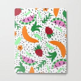Fruit Party II Metal Print