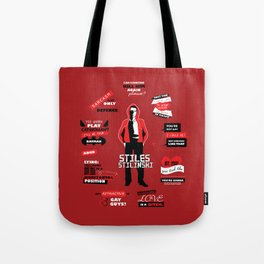 Stiles Stilinski Quotes Teen Wolf Tote Bag