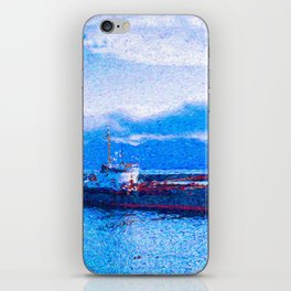Blue Harbor iPhone Skin
