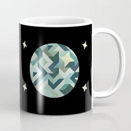 circle geometry (Black Background) Coffee Mug