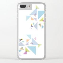 Bermuda  Triangles Clear iPhone Case
