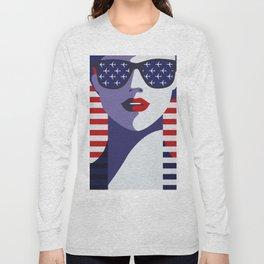 USA Flygirl Long Sleeve T-shirt