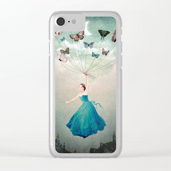 Leaving Wonderland Clear iPhone Case