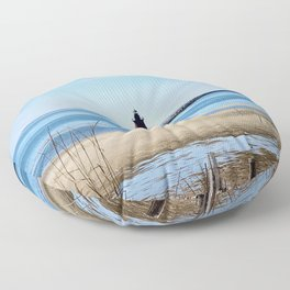 Lewes Lighthouse Floor Pillow