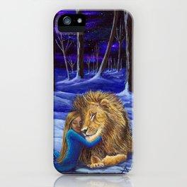 I'll never abandon you iPhone Case