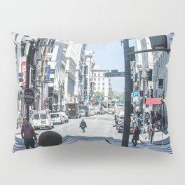 San Francisco street lines Pillow Sham