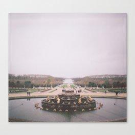 The Fountain Canvas Print