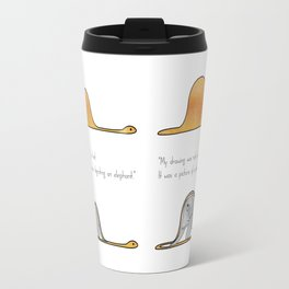 The Little Prince, a hat or a boa constrictor? Travel Mug