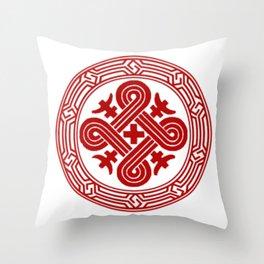 Ateljie Kuutamo logo 2 Throw Pillow