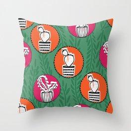 cute circle pattern Throw Pillow