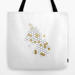 Honey Comb Tote Bag