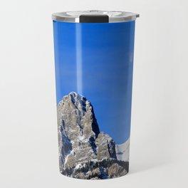 Moon over the Rockies Travel Mug