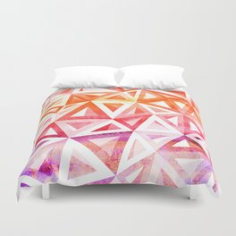 Bermuda Triangle Sunset Duvet Cover