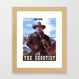 The Shootist Framed Art Print