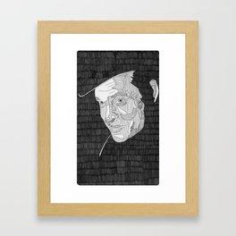 Harry Lime. Framed Art Print