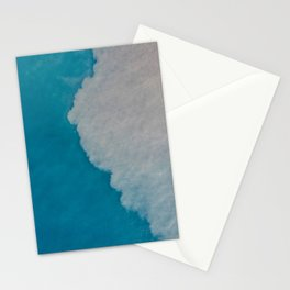 Ocean Wave Aerial Photography Stationery Cards