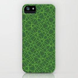 Perifera .matrix iPhone Case