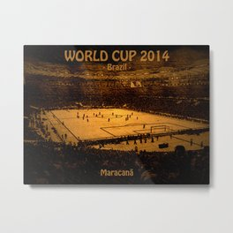 World Cup 2014: Maracanã Metal Print
