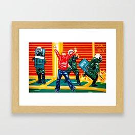 Sweet freedom Framed Art Print