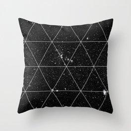 Spacial Geometrica #3 Throw Pillow