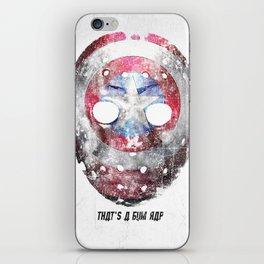 Yankee Mask iPhone Skin