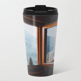 Dolomite Cabin Metal Travel Mug