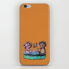 In the bath iPhone & iPod Skin