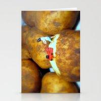 potato Stationery Cards featuring Potato Peeler  by Amanda Shirlow