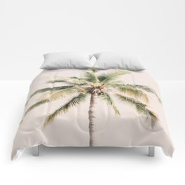 Tropical Palm Tree Comforters