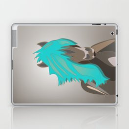 The Horse with the Turquoise Mane Laptop & iPad Skin