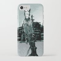 captain silva iPhone & iPod Cases featuring captain by jenapaul
