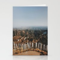 hollywood Stationery Cards featuring Hollywood by stephenhyao
