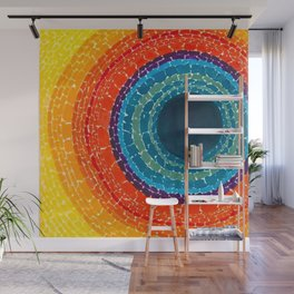 African American Masterpiece The Eclipse by Alma Thomas Wall Mural