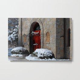 Portiuncula  Chapel Doors Metal Print