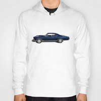 muscle Hoodies featuring Muscle Car by drQuill