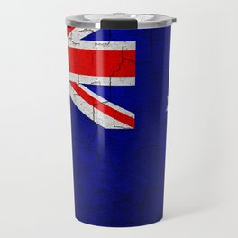 Cracked Australia flag Travel Mug