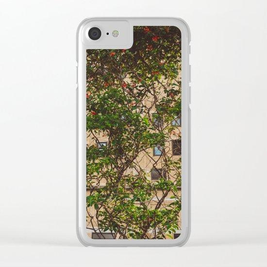Urban Garden Clear iPhone Case