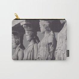 Caryatids of the Erechtheion, ancient greek, Athens agora, Erectheum, Greece photo,  Acropolis of Athens Carry-All Pouch