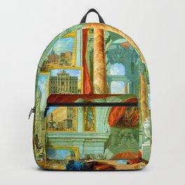 Giovanni Paolo Panini Modern Rome Backpack