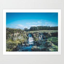 """""""Trickle."""" The Fairy Pools, Isle of Skye, Scotland Art Print"""