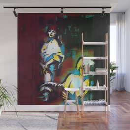 Les Amoureux Wall Mural