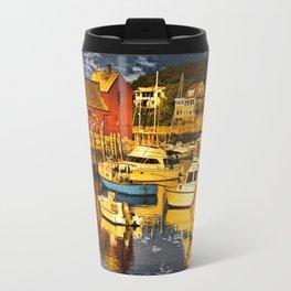 Motif Number 1 , Bearskin Neck, Rockport MA Travel Mug